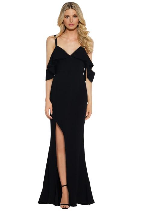 Talulah - Vanity Fair Gown - Black - Front