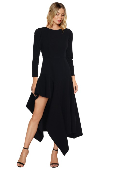 Talulah - Wonder LS Midi Dress - Front