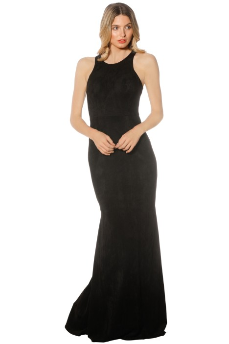 Tania Olsen - Emily Dress - Black - Front