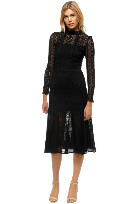 a71d10e7b3a7d Desdemona Lace Midi Dress by Temperley London for Hire