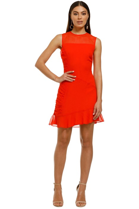 The-East-Order-Aicha-Mini-Dress-Fire-Front