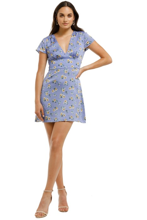 The-East-Order-Lea-Mini-Dress-Lilac-Floral-Front