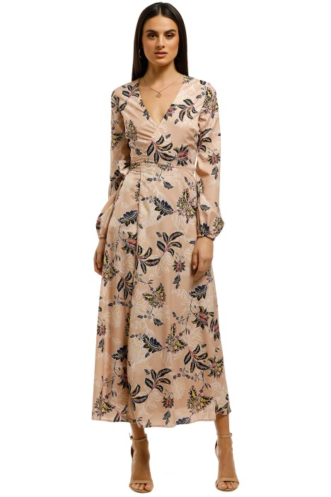 The-Jetset-Diaries-Azalea-Midi-Dress-Blush-Floral-Front