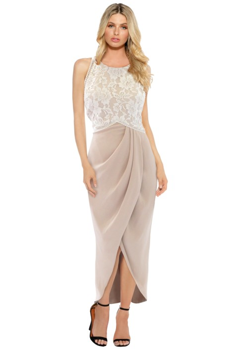 The Dress Shoppe - Spirit Carnivale Dress - Nude - Front