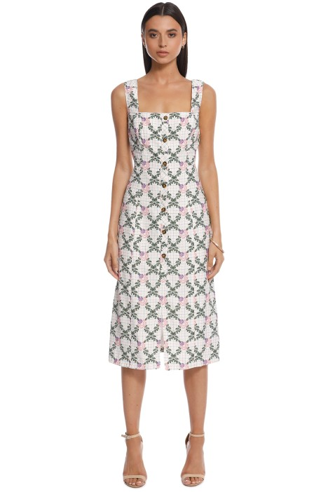The East Order - Tarshie Midi Dress - Back