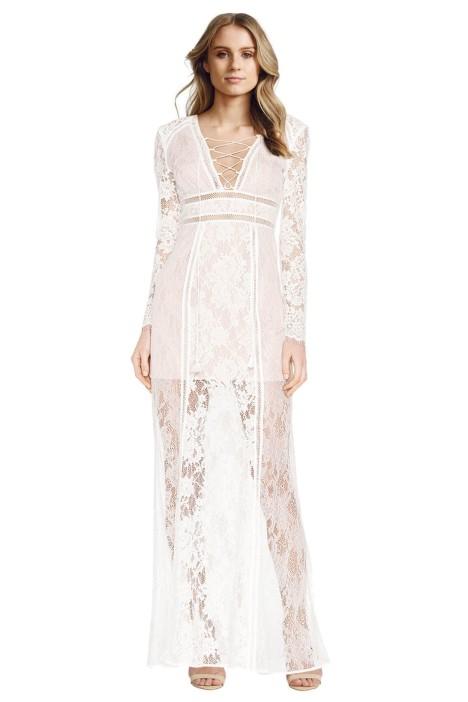 The Jetset Diaries - Caribbean Maxi Dress - White - Front
