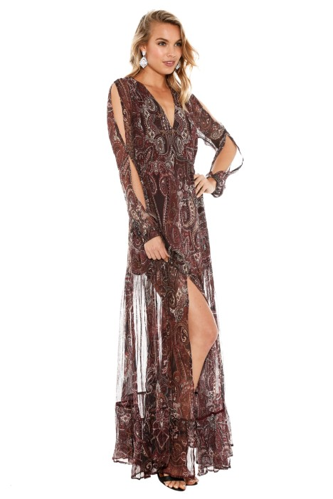 a28f349bb04c Labyrinth Paisley Maxi Dress by The Jetset Diaries for Hire