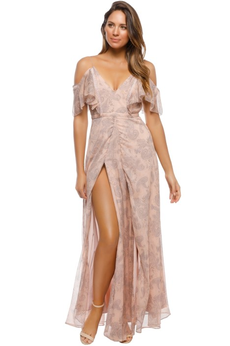 The Jetset Diaries - Sublime Illusion Maxi Dress - Pink - Front