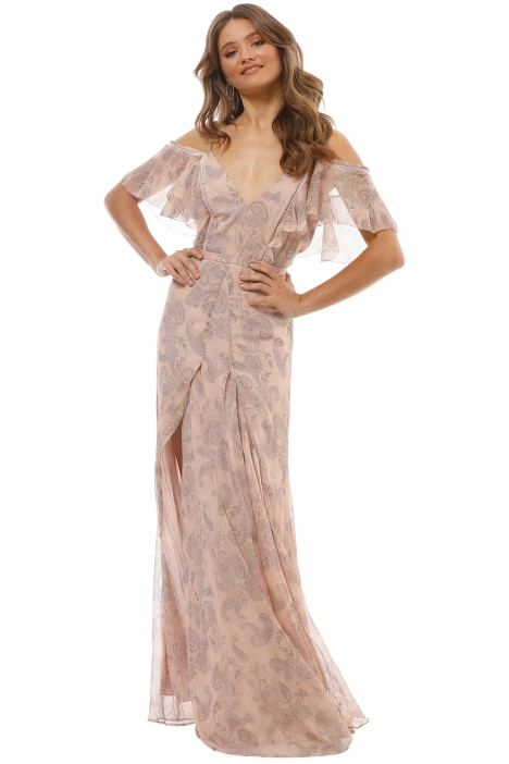 4a00663fc26 Sublime Illusion Maxi Dress by The Jetset Diaries for Rent