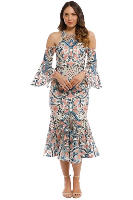 0da0fd25322b Carnival Midi Dress by Thurley for Rent | GlamCorner
