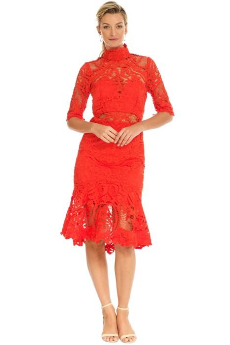 Thurley - Eternity Dress - Mandarin - Front
