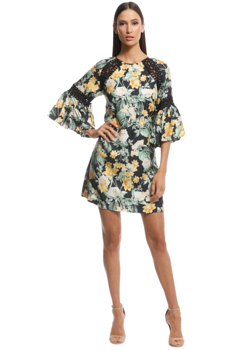 Thurley - Golden Fields Print Dress - Print - Front