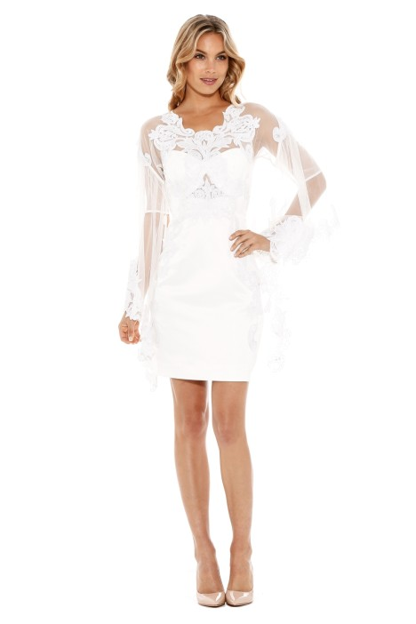 Thurley - Melody Dress - White - Front