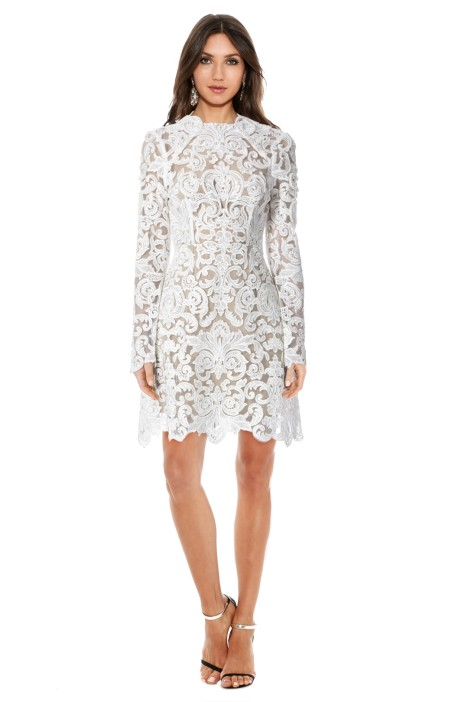 Thurley - Mother of Pearl Dress - White - Front