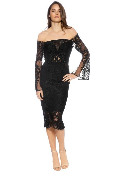 Thurley - Scarborough Fair Dress - Front - Black