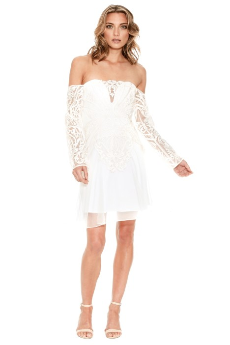 Thurley - Spanish Steps Dress - White - Front
