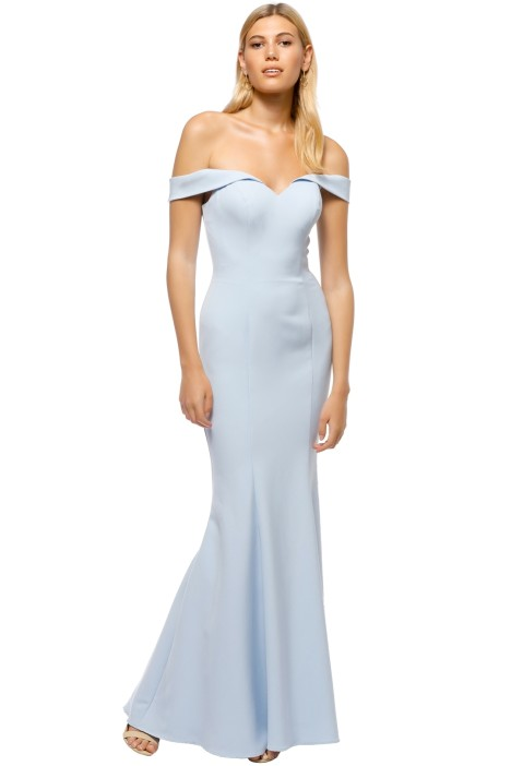 Tinaholy - Aria Sweetheart Gown - Powder Blue - Front