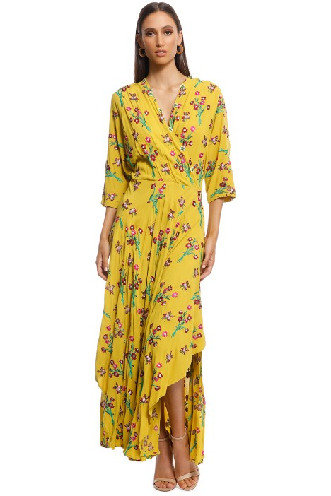 Trelise Cooper - Eat Drink Be Maxi Dress - Yellow - Front