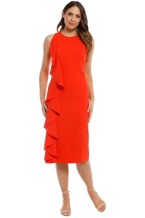 Light My Fire Dress - Tangerine