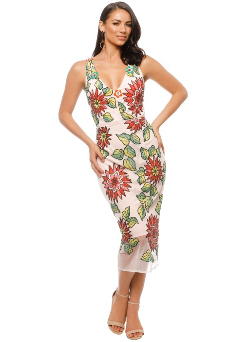 2b7cf87c3a Trelise Cooper - Million Dollar Lady Dress - Pink Floral - Front
