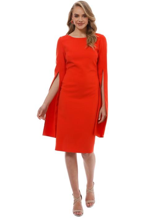 Trelise Cooper - Up Your Sleeve Dress - Tangerine - Front
