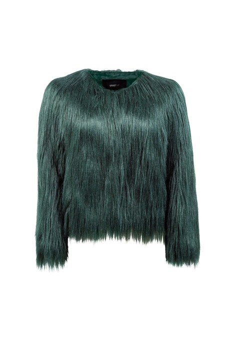 Unreal Fur - Unreal Dream Jacket - Forest Green - Front