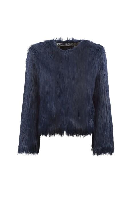 Unreal Fur - Unreal Dream Jacket - Navy - Front