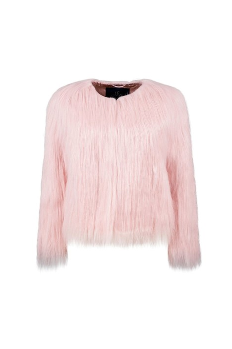 Unreal Fur - Unreal Dream Jacket - Pink - Front