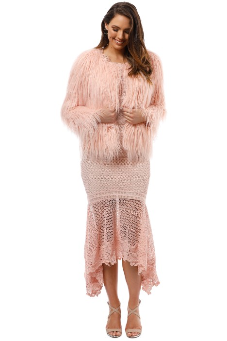 Unreal Fur - Unreal Dream Jacket - Pink - Front