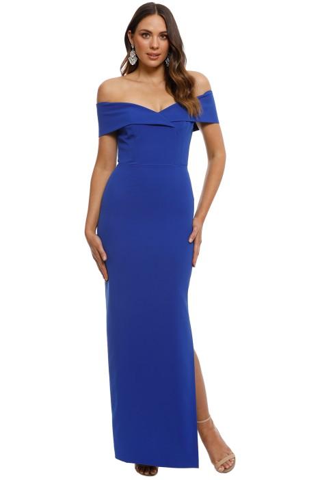 6cfa71433f70 Unspoken - Alexa Dress - Cobalt - Front