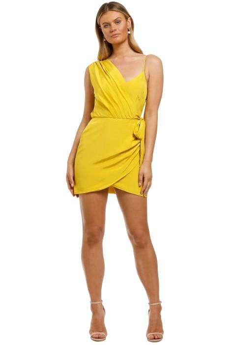 Vestire-Pretty-Hurts-Mini-Dress-Mustard-Front