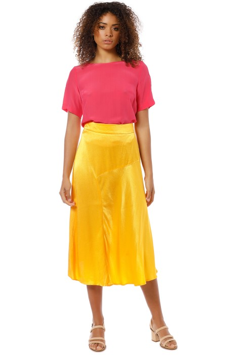 Vestire - Kaia Skirt - Yellow - Front