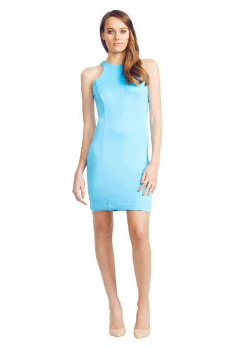 Wayne Cooper - Colour Block Dress - Blue - Front