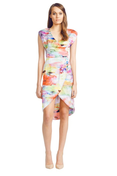 Wayne Cooper - Sarong Dress - Front - Prints