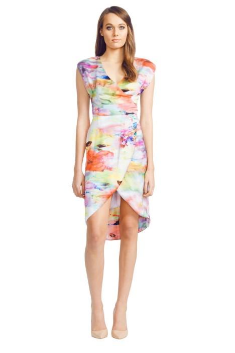 Wayne Cooper - Sarong Dress - Prints - Front