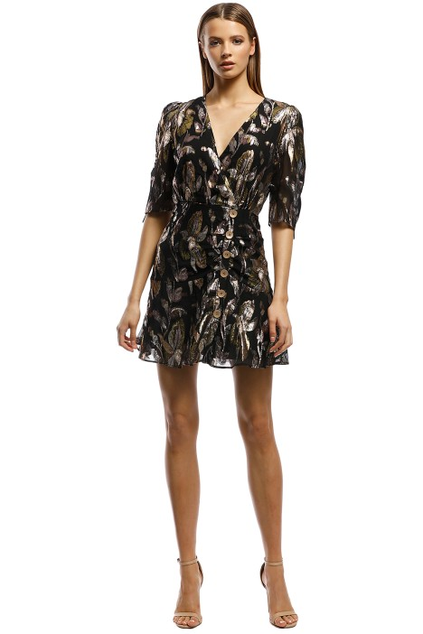 We-Are-Kindred-Harlow-Mini-Dress-Metallic-Front