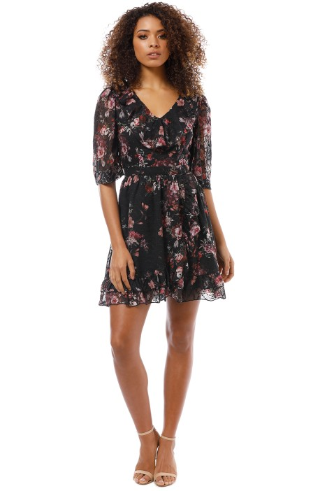 We Are Kindred - Aurelie Mini Dress - Midnight Garden - Front
