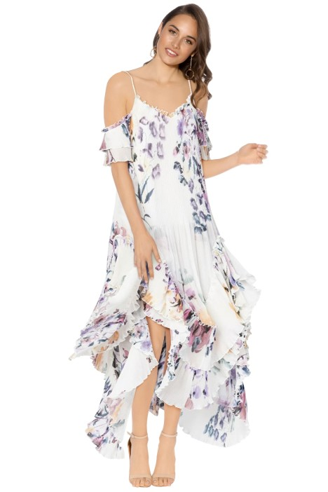 We Are Kindred - Catarina Pleat Maxi Dress - Front
