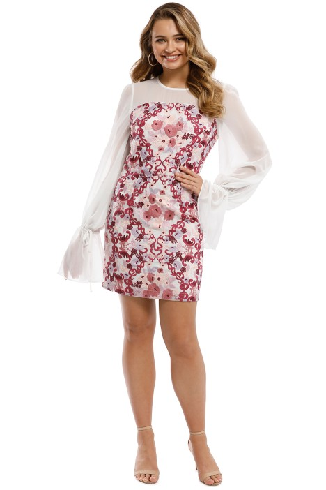 We Are Kindred - Elisabetta Mini Dress - Mulberry Rose - Front