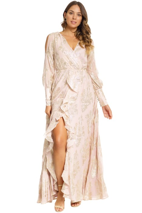 a68a045f2b Lotus Maxi Dress in Blush by We Are Kindred for Rent