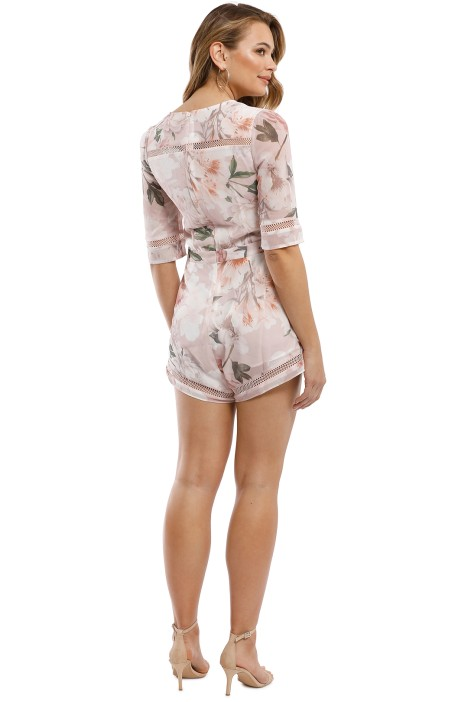 5d242e52e4c We Are Kindred - Magnolia Romper - Blush Tigerlily - Back