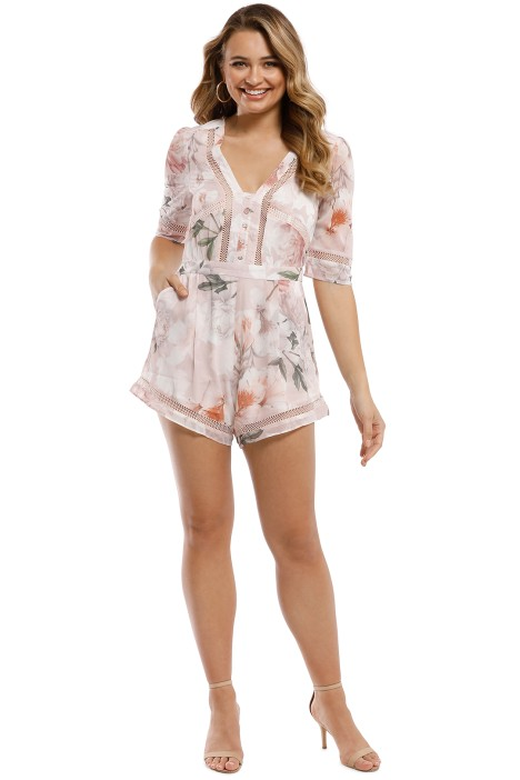 cdba4ee2c62 We Are Kindred - Magnolia Romper - Blush Tigerlily - Front
