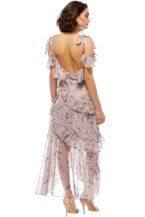 Pippa Ruffle Maxi Dress by We Are Kindred for Rent