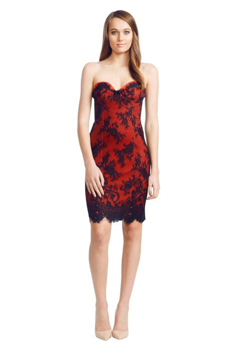Wheels & Dollbaby - Red Dinner with Him - Red - Front
