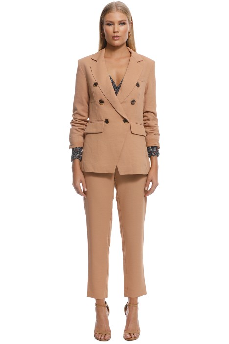 Wish - Eclipse Blazer - Cinnamon - Front