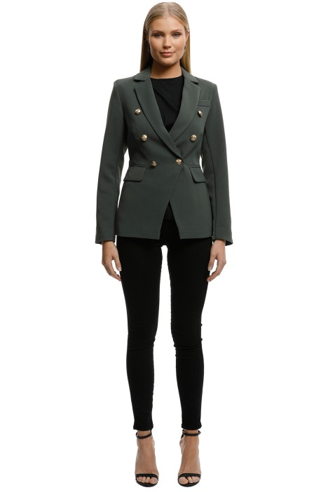Wish - Eclipse Blazer - Forest - Front