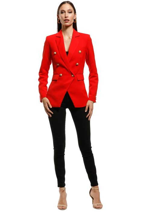 Wish - Expectations Blazer - Red - Front