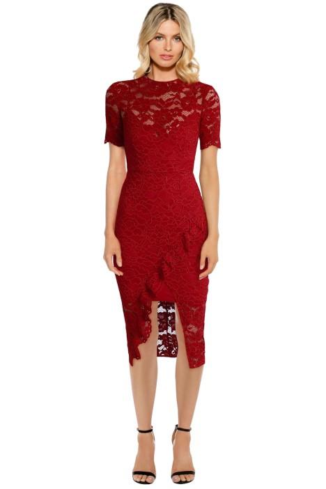 Yeojin Bae - Cornelli Lace Alyssa Dress - Front