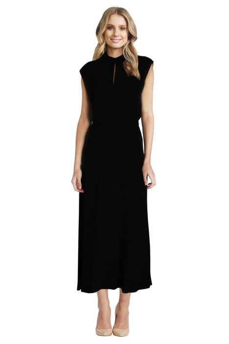 Zimmermann - Roll Collar Long Dress - Front