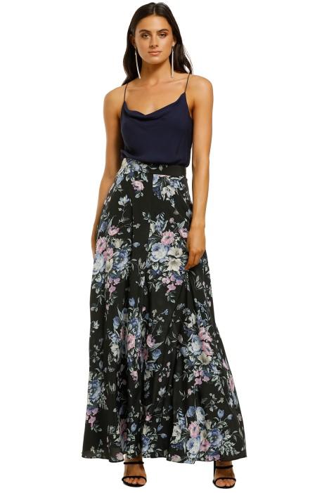 Zimmermann-Moncur-Circular-Skirt-Midnight-Floral-Front